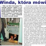",,Winda, która mówi""  - Mieszkaniec nr 6 (427) z 22.03.2007 roku"